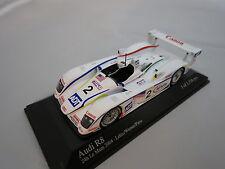 Minichamps Audi R8 Le Mans 2004 Champions Racing  (weiß/bunt) 1:43 TOP & OVP