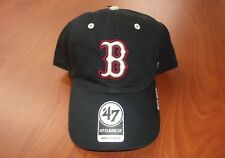 '47 MLB Boston Red Sox Baseball Clean Up Authentic Cotton Twill Hat ~NWT~