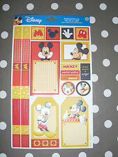 MICKEY Disney Die-cuts En Relief scrapbooking