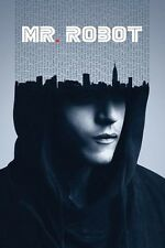 Mr Robot TV Poster Print Rami Malek USA Hacker New 24x36