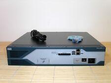 Cisco 2851-HSEC/K9 IPSEC + VPN Router ADVANCED IP SERVICES IOS AIM-VPN/SSL-2