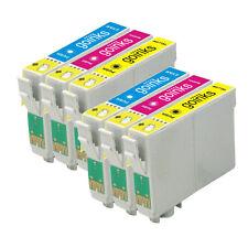 6 C/M/Y Cartucce d'Inchiostro per Epson Stylus DX5000 DX9400F SX400 S20