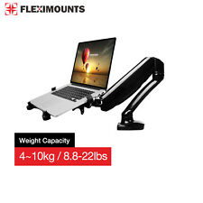 "2in1 Computer  10-28"" Monitor Gas Spring Desk Mount Laptop Notebook holder stand"