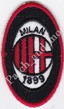 [Patch] A.C MILAN replica club football scudetto cm 4,7 x 7,5 toppa ricamo -1005