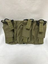 LBT-6011D Triple Mike-4 / Pistol Mag Speed Draw Pouch Coyote Tan
