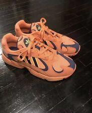 """9fbbfb39135f Adidas Yung 1 Hi-Res Orange Shock Yellow Navy """"Goku"""" Mens Sneaker Size"""
