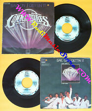 LP 45 7'' THE COMMODORES Sail on Gettin it 1979 italy MOTOWN no cd mc dvd (*)