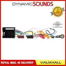 connects2 ct20vx03 aerial iso wiring harness lead for vauxhall astra 2004 2010
