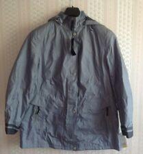 Ladies Lebek Hooded Aquatex Coat BNWT SIZE 22 Slate Blue.Free UK Postage