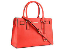 Michael Kors Dillon Medium Bag in Mandarin Saffiano Leather Brand New With Tag
