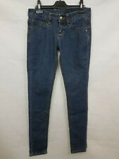 Monkee Genes Ladies skinny jeans low rise blue cotton blend size 27 02