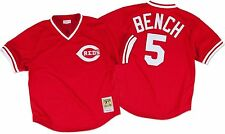 Mitchell Ness 1983 Cincinnati Reds Johnny Bench Batting Practice Jersey 3XL