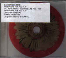 Backstreet Bopys-Anywhere For You Promo cd maxi single