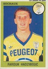 N°257 HADZIBEGIC # BOSNIA FC.SOCHAUX VIGNETTE PANINI FOOTBALL 94 STICKER 1994