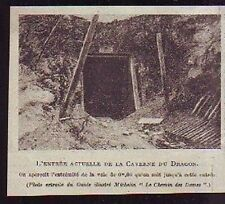 1920  --  ENTREE ACTUELLE DE LA CAVERNE DU DRAGON  S994