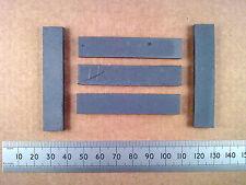 Qty 5 : 62mm Rectangular Ferrite Slab, AM MW / LW Radio Loopstick Aerial Core