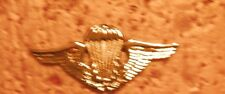 US ARMY , US MADE,CLUTCH BACK PARACHUTE BADGE, BRAZIL ARMY
