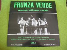 LP FRUNZA VERDE-FOLKLORE ROUMAIN VOL 1 ELECTRECORD 0815
