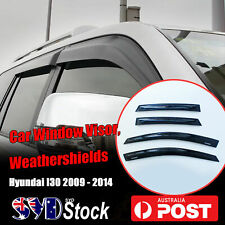 HQ Window Visor Weathershields For Hyundai i30 09 - 14 Car Weather Shields Guard