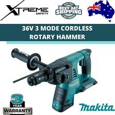 Makita Cordless Rotary Hammer Skin 36V 26mm 3 Mode