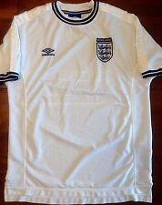 Umbro ENGLAND Euro 2000 Home XL Soccer Jersey Football Shirt White FA