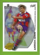 2001SELECT NRL IMPACT SERIES-ACCOLADES-A5-ANDREW JOHNS-KNIGHTS