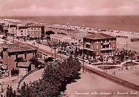 Cartolina -  Rimini panorama spiaggia Oriental Park 1949