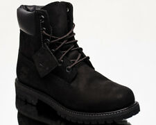Timberland 6 Inch Premium Black Women's Waterproof Lace up BOOTS 8658a 6.5