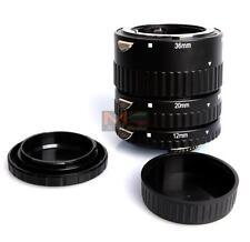 Metal Auto Focus AF Macro Extension Tube for Nikon SLR & AF AF-S DX FX Lens