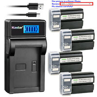 Kastar LCD Charger Battery for Konica Minolta NP-800 Battery Dimage A200 Camera