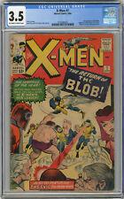 1964 X-Men 7 CGC 3.5 2nd Blob