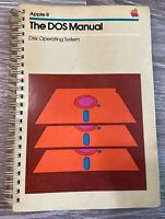 Apple II DOS Manual Disk Operating System Computer Software Installation Book