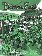 DOWN EAST MAGAZINE~JUNE 1966