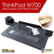 NEW Lenovo ThinkPad W700 W700ds W701 W701ds Mini Dock 2.0 Laptop Docking Station