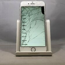 Apple iPhone 6 64GB Silver AT&T Unlocked Cracked Screen Touch IC Bad Digitizer
