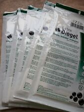 5 pairs Molnlycke Biogel Surgical Gloves Latex green underglove size 7