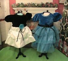 2 Pretty Dressy Dresses for 18 inch Dolls