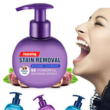 New Baking Soda Toothpaste Intensive Stain Remover Teeth Whitening Press Type US