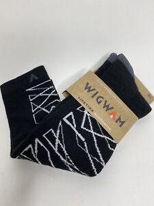 Unisex Wigwam Fusion Tech Snow Crew Nylon/Wool Socks •Men 5-9.5 Women 6-10 *NWT