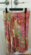E the label multicoloured Ladies skirt size 16