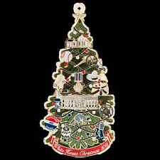 The White House Historical Association Christmas Ornament - Calvin Coolidge 2015