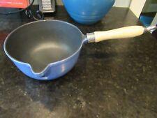Morphy Richards Blue  Enamel Saute Pan Cast Iron Casserole 7 cups