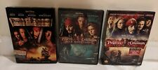 Pirates of the Caribbean Trilogy (Dvds, Movies 1, 2, & 3)