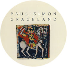 "PAUL SIMON GRACELAND  VINYL STICKER 4"" ROUND 100MM .QUALITY BUY 2 GET 1 FREE"
