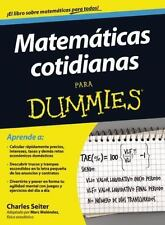 Matematicas cotidianas para Dummies (Spanish Edition)-ExLibrary