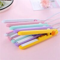 Mini Portable  Hair Iron Hair Straightener Curler Professional  Hair Irons