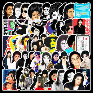 20 Different MICHAEL JACKSON Stickers Laptop / Walls / PC'S Glossy
