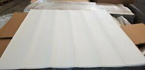 3D Wood Foam Wallpaper 50 sqft Peel and Stick Self Adhesive w/ Minor Defect