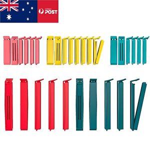 10/20/30 IKEA Bevara Plastic Food Storage Bag Sealing Clips Locks Mixed Sizes