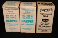 BEATRICE Parafin Wick-New Old Stock for HARPER 800 & 900/2 oil convector Heaters